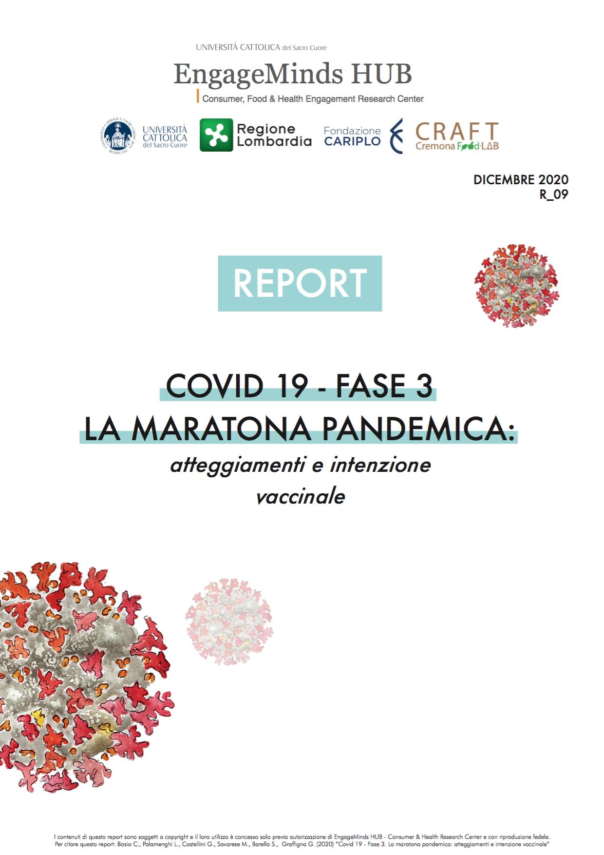 COVID 19 - FASE 3. LA MARATONA PANDEMICA