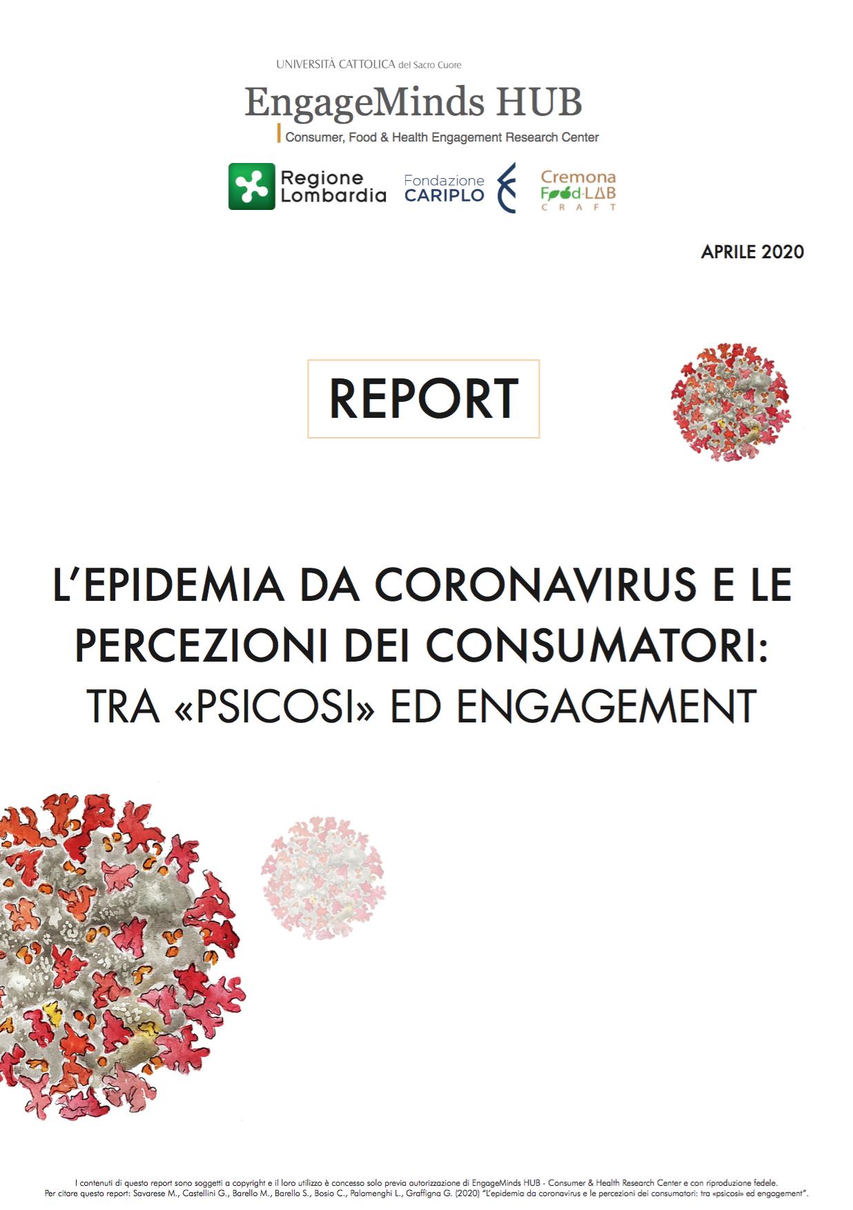 L'EPIDEMIA DA CORONAVIRUS E LE PERCEZIONI DEI CONSUMATORI